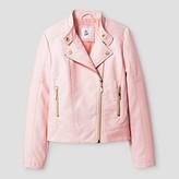 art class Girls' Moto Jacket - Art Class Pink