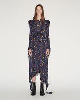 Vetements Flower Print Dress