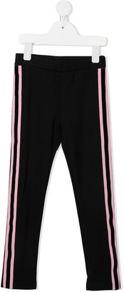 Moncler Enfant Stripe Straight-Leg Trousers