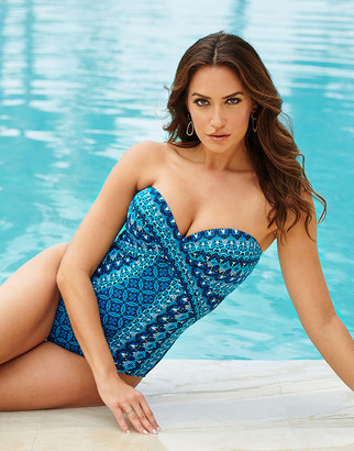 Miraclesuit Seville Mosaica Firm Control Swimsuit