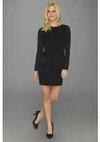 Nicole Miller Black Russian Tartanian Dress