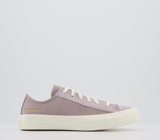 Converse All Star Low Trainers Amethyst Grey Egret Egret Exclusive