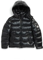 Moncler Boy's Maya Hooded Down Jacket