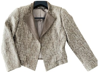 Elie Tahari Metallic Tweed Jacket for Women