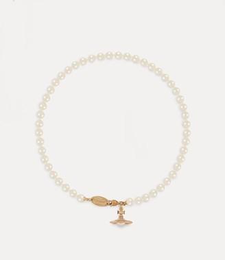 Vivienne Westwood Simonetta Pearl Necklace Gold-Tone