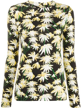 Loewe daisy-print T-shirt