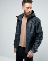The North Face Millerton Camo Jacket Hooded In Black
