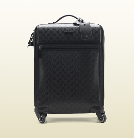Gucci Four Wheel Carry-On Suitcase