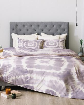 Deny Designs Monika Strigel Lavender Tie Dye Comforter Set