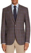 Jack Victor Loro Piana Plaid Classic Fit Sport Coat - 100% Exclusive
