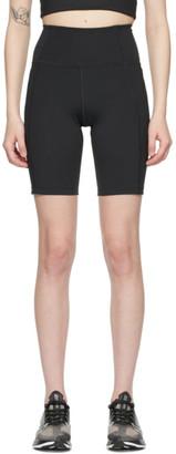 Girlfriend Collective Black High-Rise Bike Shorts