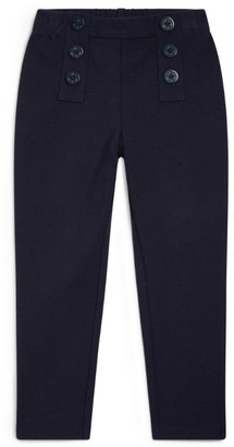 Ralph Lauren Kids Button Detail Trousers (2-4 Years)