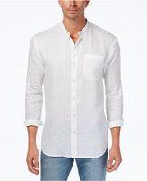 Tommy Bahama Men's Remi Banded-Collar Linen Shirt