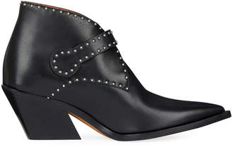 Givenchy Elegant Studded Western Booties