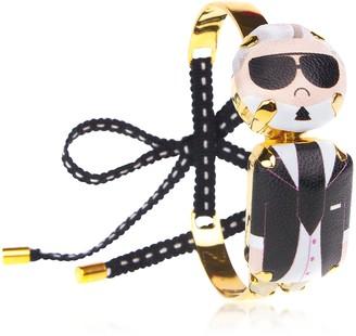 Karl Lagerfeld Paris Bijoux De Famille Mini Choker Bracelet