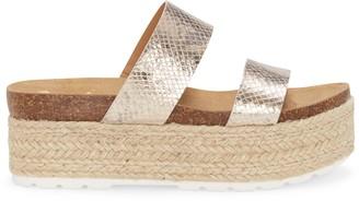 Vince Camuto Masinda Two-Strap Flatform Sandal