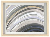 """Threshold Framed Agate Abstract 24""""x18"""