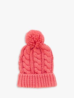 White Stuff Penny Chunky Knit Pom Pom Hat