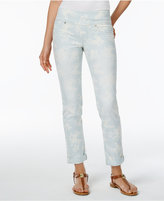 Style&Co. Style & Co. Ella Printed Boyfriend Jeans, Only at Macy's