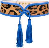 Balmain tasselled waist belt