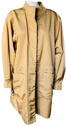 Saint Laurent Green Trench Coat for Women Vintage