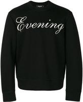 DSQUARED2 Evening sweatshirt - men - Polyurethane/Viscose - S