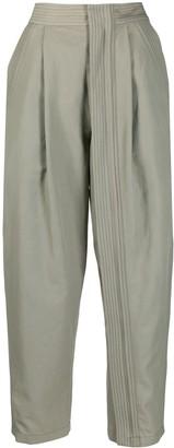 Stella McCartney High-Waist Cropped Trousers