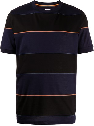 Paul Smith striped-print crew neck T-shirt