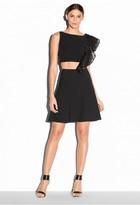 Milly Italian Cady Stretch Flare Skirt