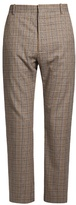 Balenciaga Straight-leg checked trousers