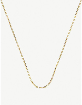 Monica Vinader 18ct Yellow Gold-Plated Vermeil Sterling Silver Rolo Neck Chain