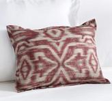 Pottery Barn Angelina Ikat Print Boudoir Pillow Cover