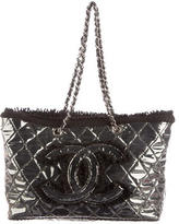 Chanel Quilted Funny Tweed Tote