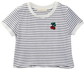 Soprano Stripe Ringer Tee (Big Girls)