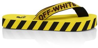 Off-White Logo Platform Flip Flops
