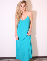 Tysa Long Perfect Dress In Aqua Dreams