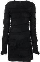 Marcelo Burlon County of Milan Kentak panelled dress