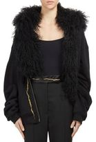 Haider Ackermann Mongolian Fur Hood