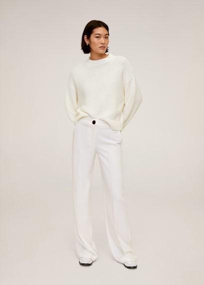 MANGO Purl knit sweater