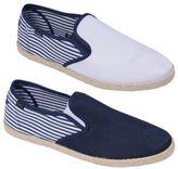 Rock & Religion Mens Espadrilles Plimsolls Canvas Shoes Pumps Trainers Size 7-11