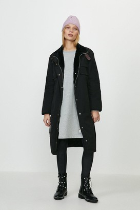 Coast Faux Fur Lined Coat