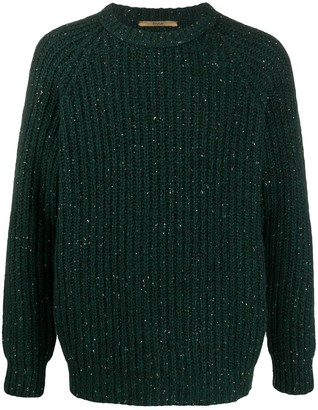 Roberto Collina Long Sleeve Cable Knit Jumper