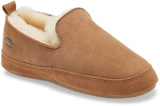 Acorn Genuine Shearling Slipper