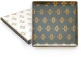 Rosanna Gray/Gold Tray Gift Box