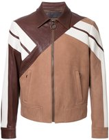 Neil Barrett geometric panelled jacket