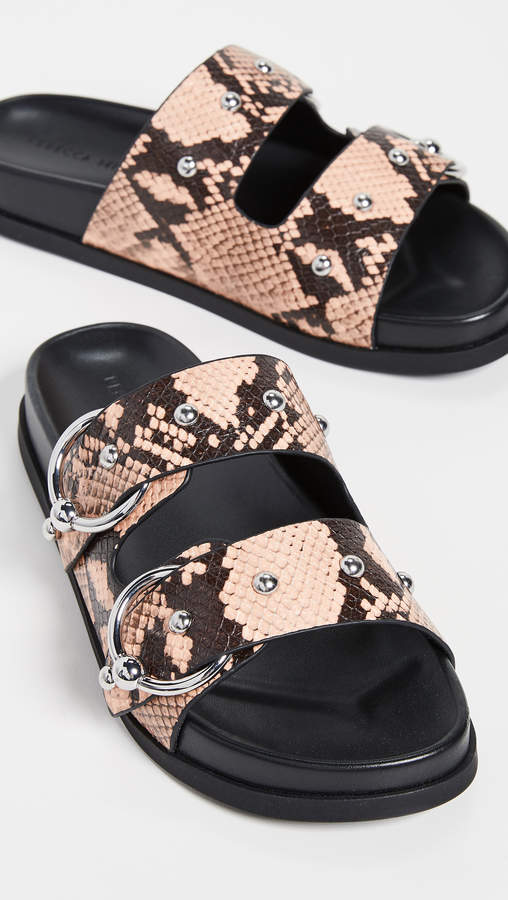 Rebecca Minkoff Vachel Too Double Strap Slides