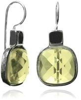 Sikara & Co. Faceted Square Earrings