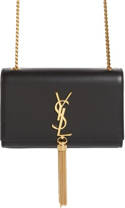 Saint Laurent Kate Tassel Calfskin Leather Shoulder Bag