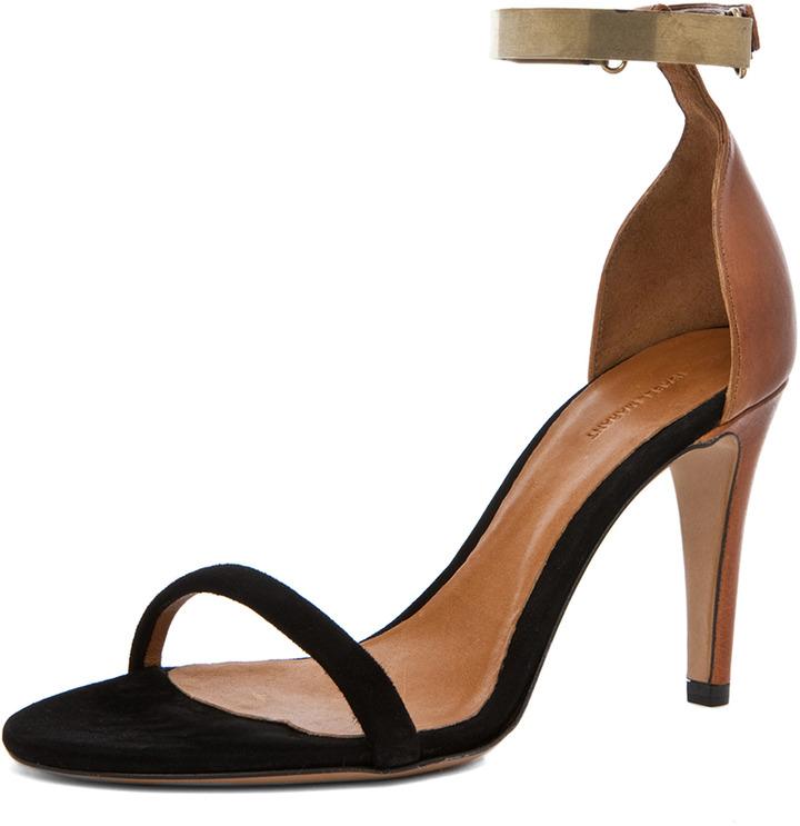 Isabel Marant Adele Heel in Black