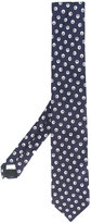 Lardini polka dot tie - men - Silk - One Size